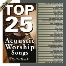 Top 25 Acoustic Worship Songs (CD)