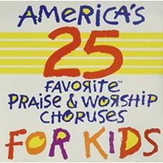 어린이 영어 찬양 베스트 25 Vol. 1 (Americas 25 Favorite Praise & Worship Choruses For Kids Vol. 1) (CD)
