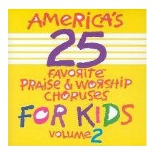 어린이 영어 찬양 베스트 25 Vol.2 [America's 25 Favorite Praise & Worship Choruses for Kids, Vol 2] (CD)