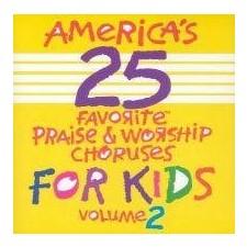 어린이 영어 찬양 베스트 25 Vol.2 [America's 25 Favorite Praise & Worship Choruses for Kids, Vol 2] (CD)
