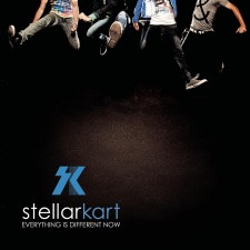 Stellar Kart - Everything Is Different Now (CD)