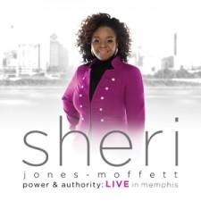 Sheri Jones Moffett - Power & Authority : Live in Memphis (CD)