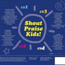 [이벤트30%]어린이와 함께하는 영어찬양(Shout to the Lord Kids!) (4CD)
